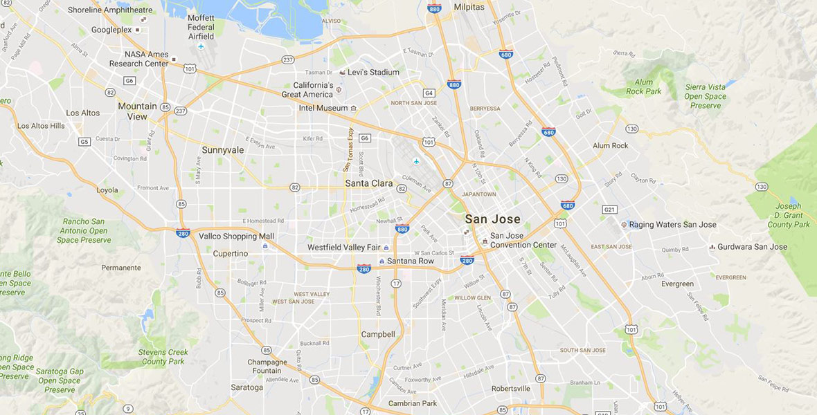 Location Greater San Jose California
